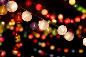 Paper Lanterns on Show-L